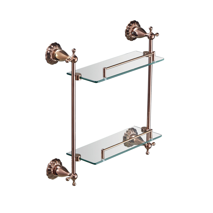 88312M Glass Shower Shelf
