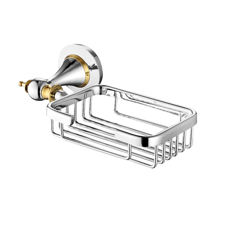 88057 Brass Soap Basket