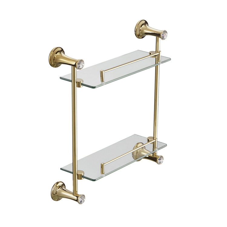 89112G Glass Shower Shelves