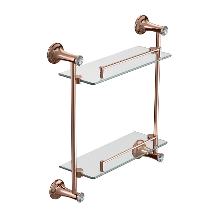 89112M 2 Tier Glass Shelf
