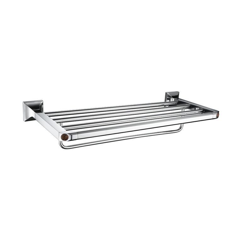 9025B Bathroom Towel Holder Shelf